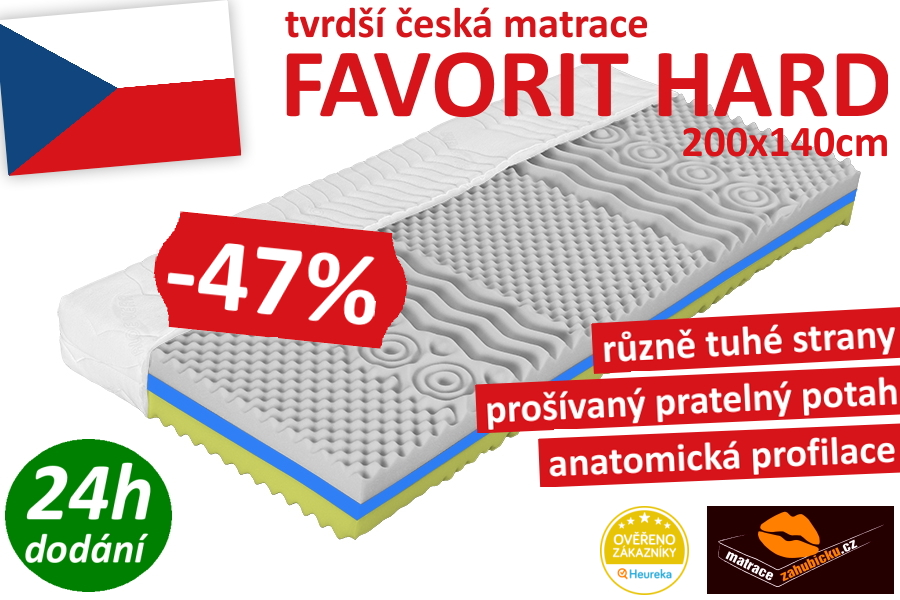 favorit hard 200x140